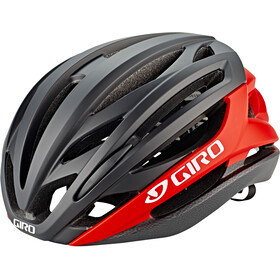 Giro Syntax Fietshelm, matte black/bright red